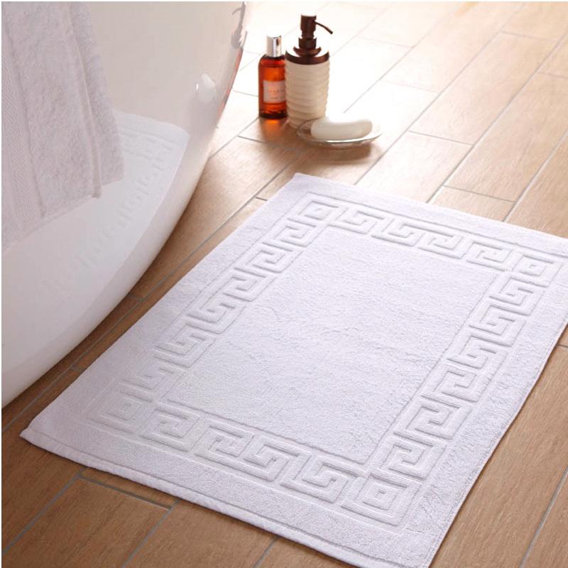 Bathroom Towels And Mats: 1000 GSM Bath Mats Greek Key Design