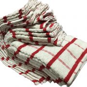 Mono Check Tea Towels